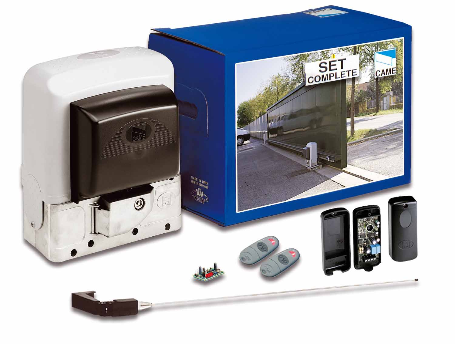 Came Bk800 Automatic Sliding Gate Kit Autogate Supplies